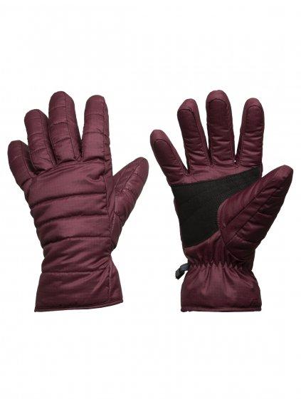 ICEBREAKER Unisex Collingwood Gloves, Redwood (vzorek)