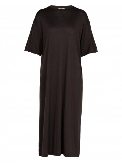 ICEBREAKER Wmns Cool-Lite Dress, Ebony (vzorek)