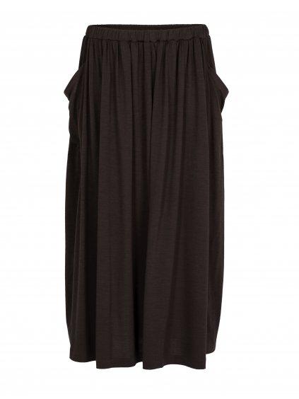 ICEBREAKER Wmns Cool-Lite Long Skirt, Ebony (vzorek)
