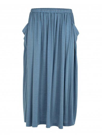 ICEBREAKER Wmns Cool-Lite Long Skirt, Granite Blue (vzorek)