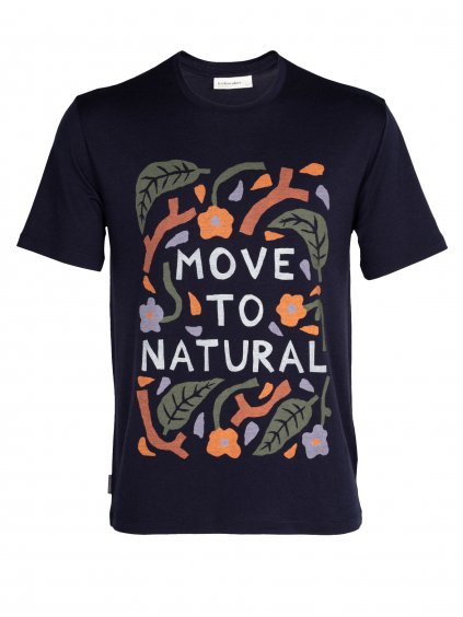 FW21 MEN ICEBREAKER X LUKE ARNOLD SS TEE MOVE TO NATURAL 0A56BG401 1