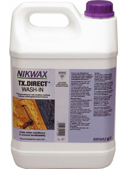 f8c700dc impregracni prostredek nikwax tx direct wash in 5 000 ml