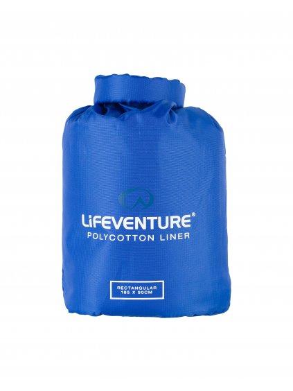 65520 polycotton sleeping bag liner rectangular 2