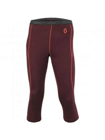 SCOTT Pant W's 7zr0 burgundy