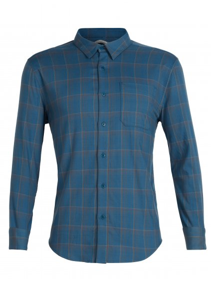 SS19 LIFE MEN COMPASS FLANNEL LS SHIRT 104141403 1