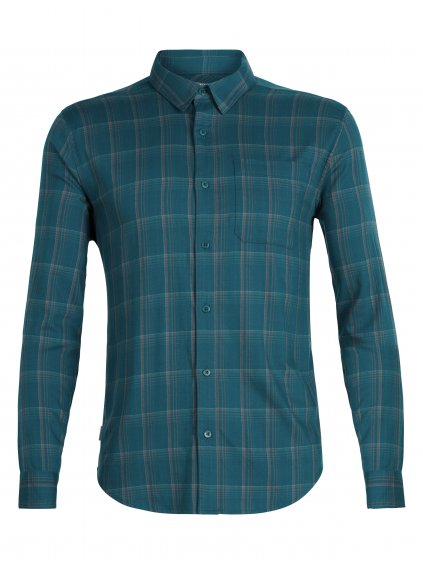 SS19 LIFE MEN COMPASS FLANNEL LS SHIRT 104141404 1