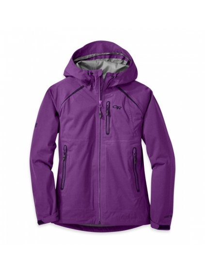 OUTDOOR RESEARCH Women's Clairvoyant Jacket, Wisteria (velikost XS)