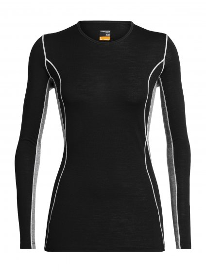 FW19 BASELAYER WOMEN 200 OASIS DELUXE LS CREWE 104385A04 1