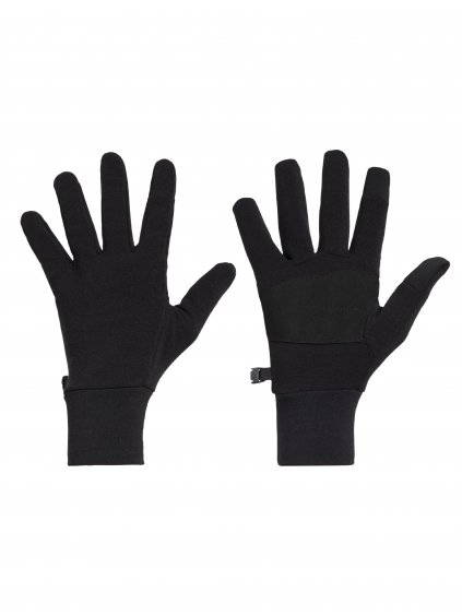 ICEBREAKER Adult Sierra Gloves, Black