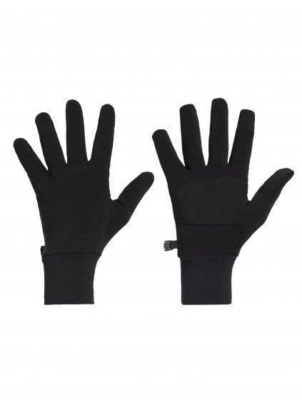 ICEBREAKER Adult Sierra Gloves, Black
