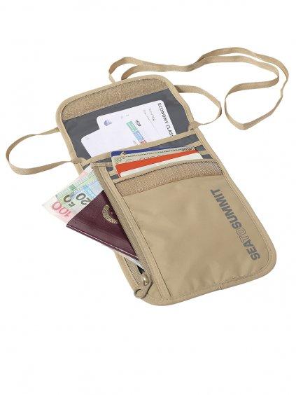 ATLNW5SA Neck Wallet Sand