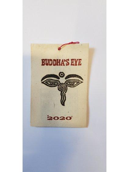 nepálský kalendář 2020 (malý) - Buddha's Eye