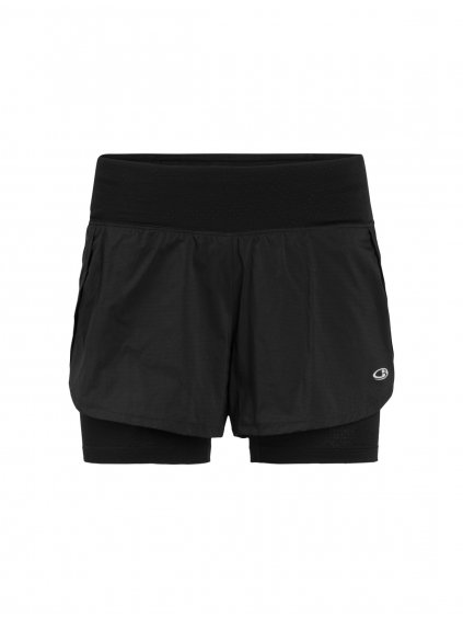 ICEBREAKER Wmns Impulse Training Shorts, Black