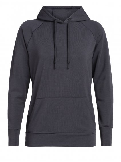 ICEBREAKER Wmns MoMentum Hooded Pullover, Panther
