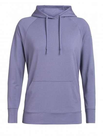 ICEBREAKER Wmns MoMentum Hooded Pullover, Orchid