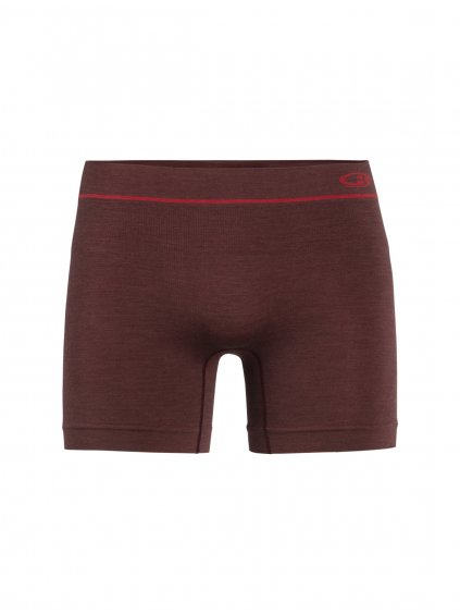 ICEBREAKER Mens Anatomica Seamless Boxers, PORT ROYALE