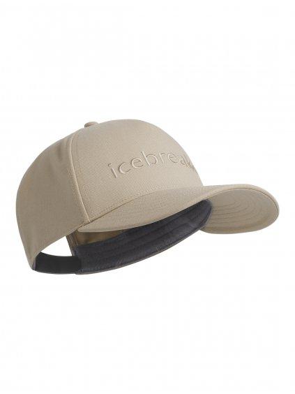 ICEBREAKER Unisex Icebreaker Logo Hat, British Tan
