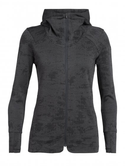 SS20 ADVENTURE WOMEN AWAY II LS ZIP HOOD 105040003 1