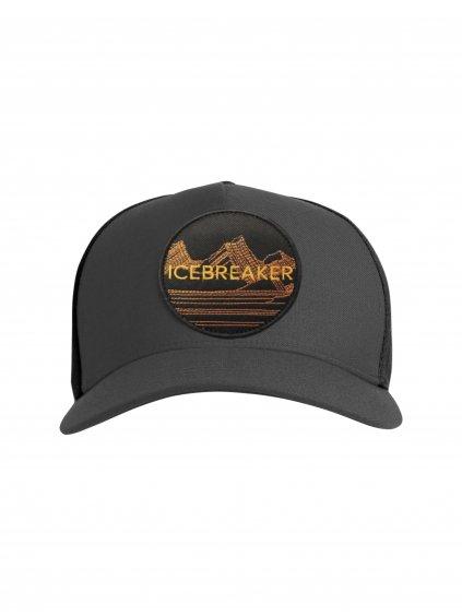 ICEBREAKER Adult Icebreaker Graphic Hat, Monsoon/Black