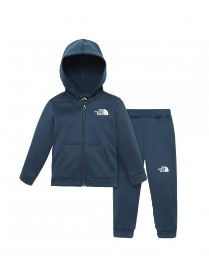 THE NORTH FACE Infant Surgent Track Set-Eu, Blue Wing Teal