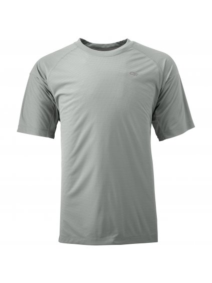 OUTDOOR RESEARCH Men'S Echo Tee, Alloy/Pewter (velikost L)