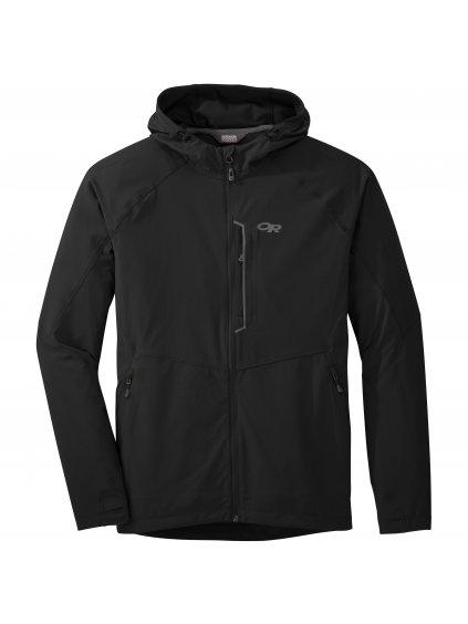 OUTDOOR RESEARCH Men's Ferrosi Hooded Jacket, Black (velikost XXL)