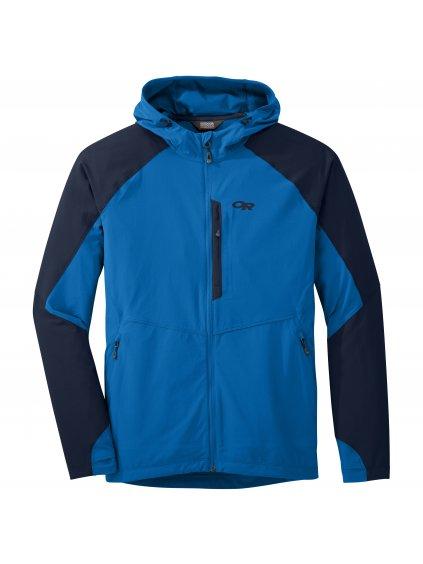 OUTDOOR RESEARCH Men's Ferrosi Hooded Jacket, Glacier/Night (velikost XXL)