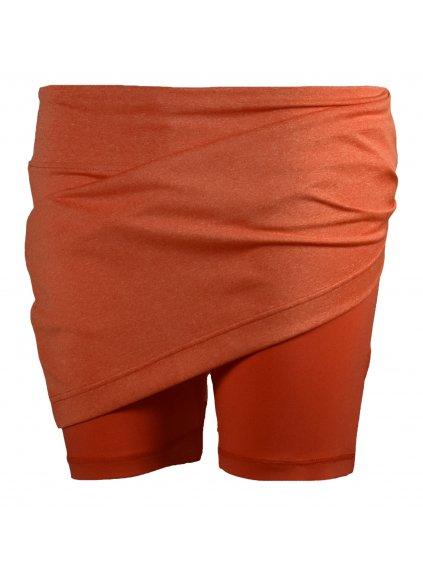 SKHOOP Sportovní sukně s vnitřními šortkami Belinda Skhort, orange