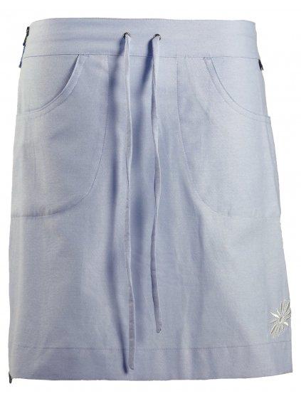 SKHOOP Letní funkční sukně Annie Short, blue denim
