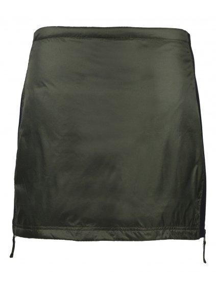 SKHOOP Zimní péřová sukně Rebecka Down, olive