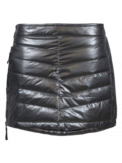 SKHOOP Prošívaná zimní péřová sukně Down Mini, metallicgrey