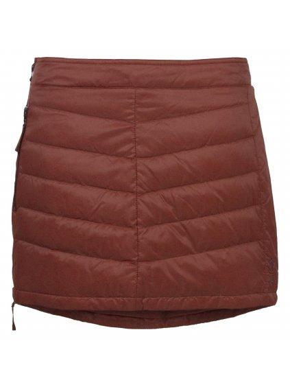 SKHOOP Prošívaná zimní péřová sukně Down Mini, brickred