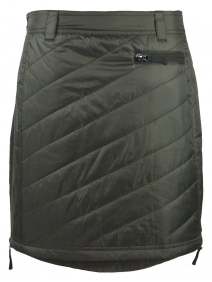 SKHOOP Zimní sukně Sandy Short, olive