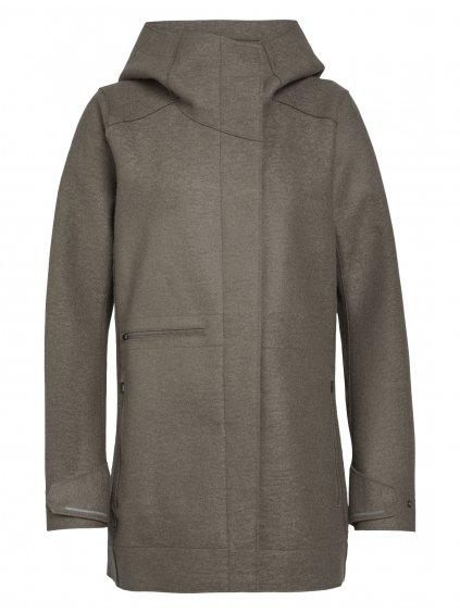 ICEBREAKER Wmns Ainsworth Hooded Jacket, Driftwood
