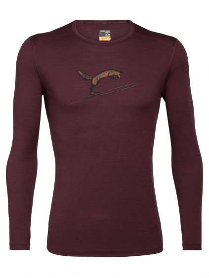FW20 BASE LAYER MEN 200 OASIS LS CREWE FOX JUMP 105209632 1