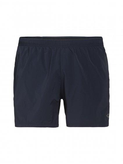 ICEBREAKER Mens Impulse Running Shorts, Midnight Navy