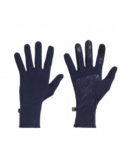 ICEBREAKER Adult Quantum Gloves, Midnight Navy