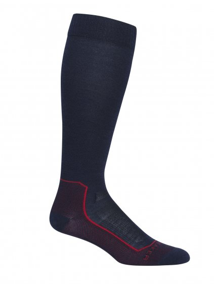 ICEBREAKER Mens Ski+ Ultralight OTC, Midnight Navy