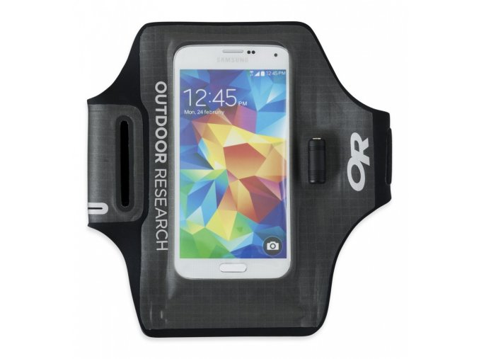 OUTDOOR RESEARCH SensorDryPocketArmband, charcoal (velikost OS (UNI))