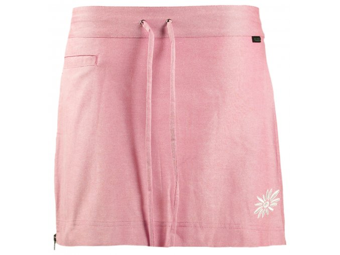 SKHOOP Letní funkční mini sukně Flora, carmine pink