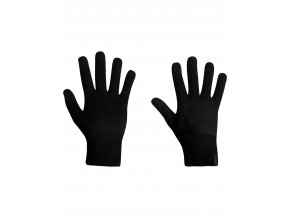 ICEBREAKER Adult Terra Gloves, Black