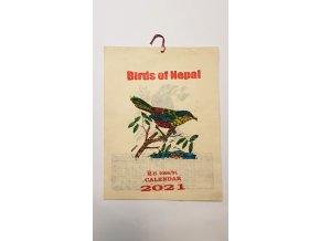 nepálský kalendář 2017 - Birds of Nepal