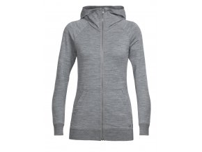 SS18 WOMEN CRUSH LS ZIP HOOD 104093001 1