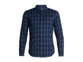 FW18 MEN COMPASS FLANNEL LS SHIRT 104141402 1