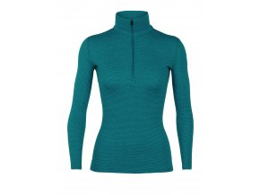 FW18 WOMEN 250 VERTEX LS HALF ZIP MOUNTAIN DASH 104495401 1
