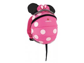 L10980 disney toddler backpack pink minnie