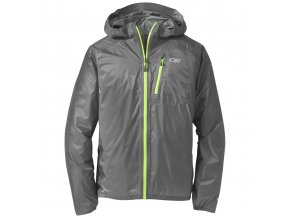 Outdoor Research Men's Helium II Jacket, Pewter (velikost XL)