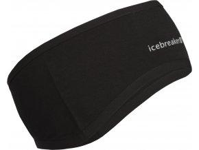ICEBREAKER Adult Quantum Headband, Black/Black