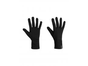 ICEBREAKER Adult Apex Glove Liners, Black
