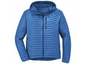 OUTDOOR RESEARCH Men's Verismo Hooded Down Jacket, Glacier (velikost XL)